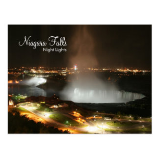 Niagara Falls, Night Lights - Post Cards