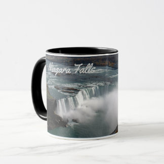 Niagara Falls on a coffee mug