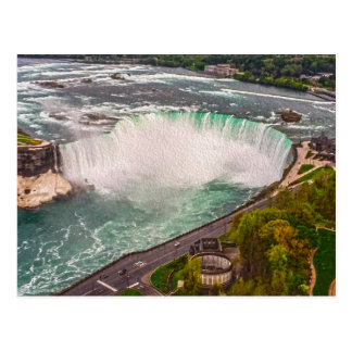 Niagara Falls on Canvas Post Card