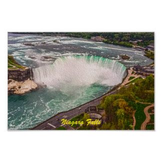 Niagara Falls on Canvas Poster