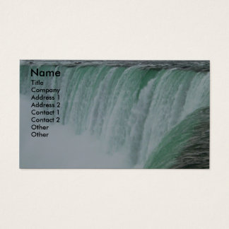 Niagara Falls Photo Business Card
