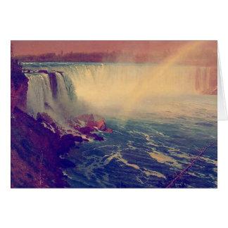 Niagara Falls Rainbow Card