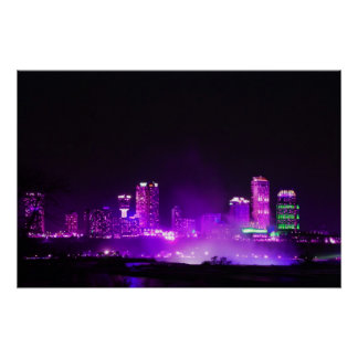 Niagara Falls Skyline Poster