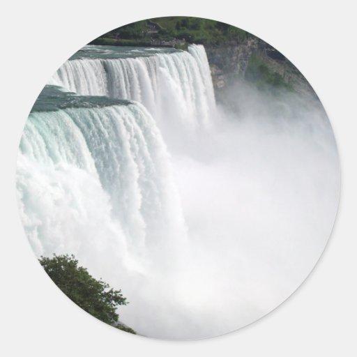 Niagara Falls Round Sticker
