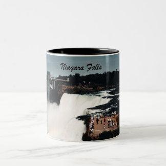Niagara Falls Two-Tone Coffee Mug