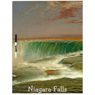 Niagara Falls Waterfall River Dry Erase Board