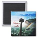 Niagara falls waterfall square magnet