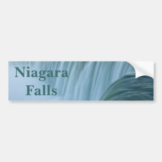 Niagara Falls with text Bumper Sticker
