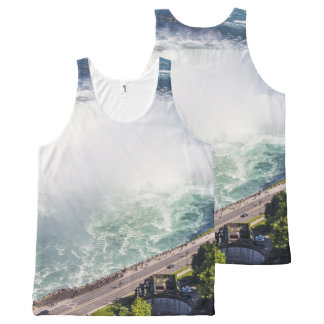 Niagara Horseshoe Falls waterfall Canada All-Over-Print Tank Top