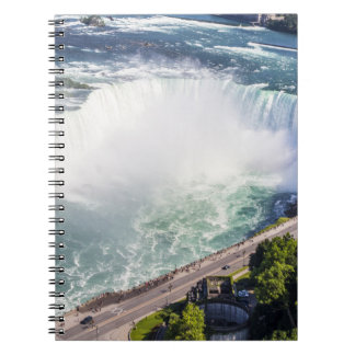 Niagara Horseshoe Falls waterfall Canada Notebook