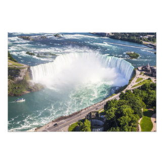 Niagara Horseshoe Falls waterfall Canada Photo Print