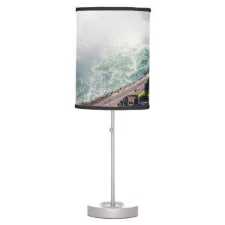 Niagara Horseshoe Falls waterfall Canada Table Lamp
