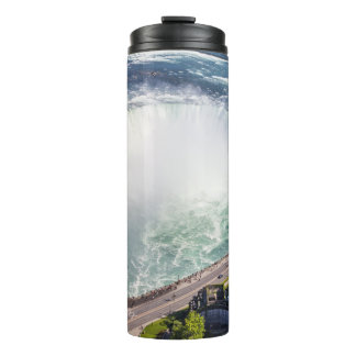Niagara Horseshoe Falls waterfall Canada Thermal Tumbler