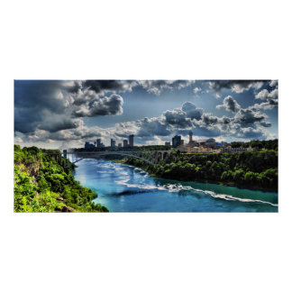 Niagara River / Rainbow Bridge Poster