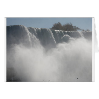 Niagra falls greeting card