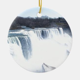 Niagra Falls products Ceramic Ornament