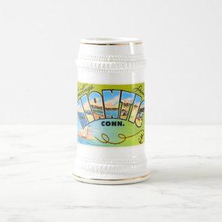 Niantic Connecticut CT Old Vintage Travel Souvenir Beer Stein