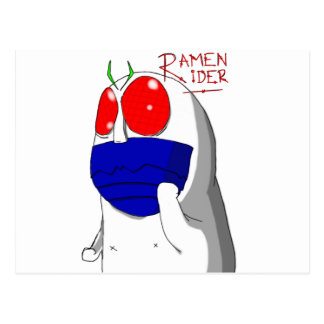 Niap Ramen Rider Postcard
