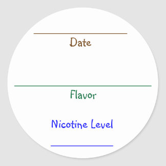 Nic-Juice Labels
