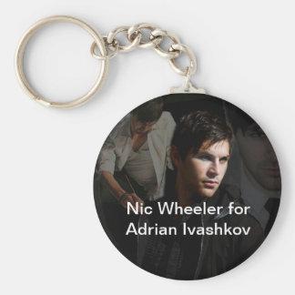 Nic Wheeler for Adrian Ivashkov Keychain