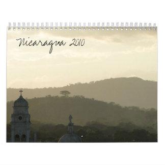 Nicaragua 2010 wall calendars