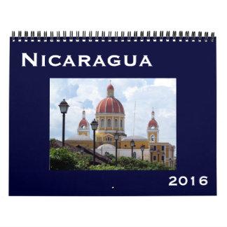 nicaragua 2016 wall calendar