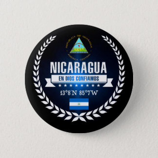 Nicaragua 2 Inch Round Button