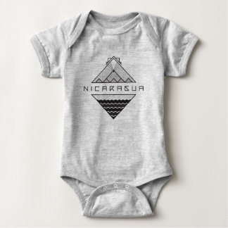 Nicaragua Baby Bodysuit