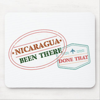 Nicaragua Been There Done That Mouse Pad