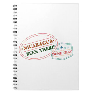 Nicaragua Been There Done That Notebooks