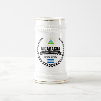 Nicaragua Beer Stein