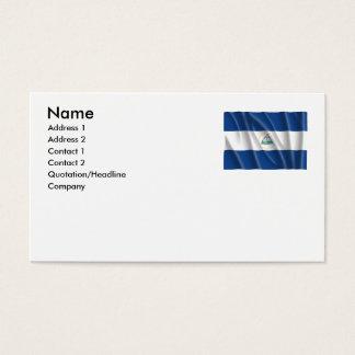 NICARAGUA BUSINESS CARD