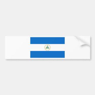 Nicaragua Flag Bumper Sticker