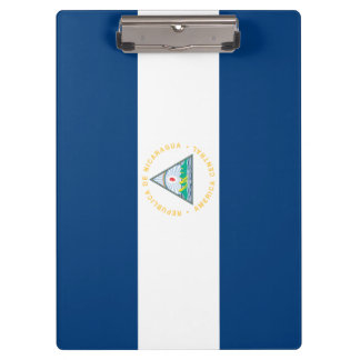 Nicaragua Flag Clipboard