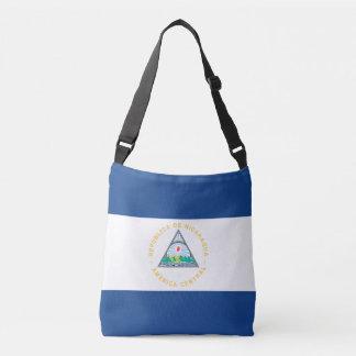 Nicaragua Flag Crossbody Bag