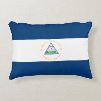Nicaragua Flag Decorative Pillow