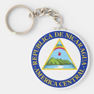 NICARAGUA -  flag/emblem/coat of arms/symbol Keychain