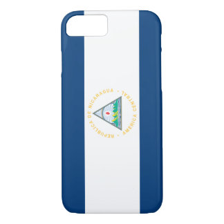 Nicaragua Flag iPhone 8/7 Case