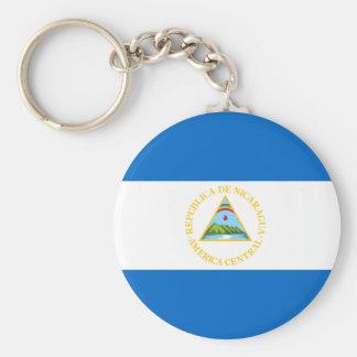 Nicaragua Flag Keychain