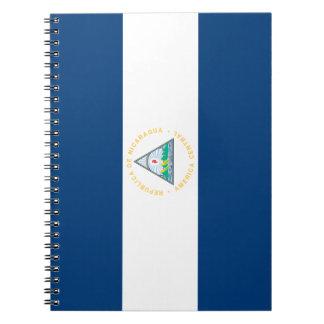 Nicaragua Flag Notebooks