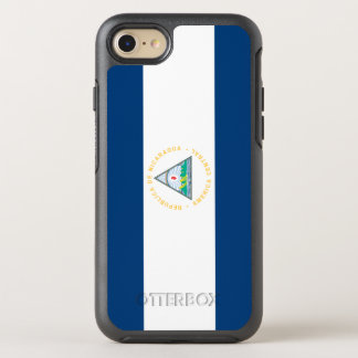 Nicaragua Flag OtterBox Symmetry iPhone 8/7 Case