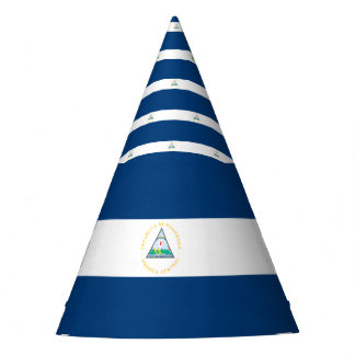 Nicaragua Flag Party Hat