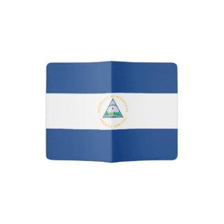 Nicaragua Flag Passport Holder