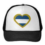 nicaragua-heart. hats