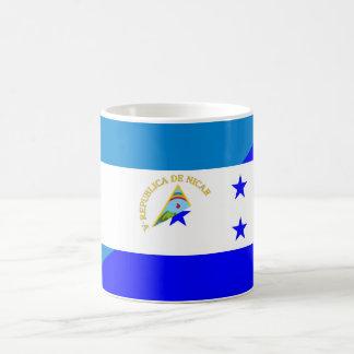 nicaragua honduras flag country half flag symbol coffee mug