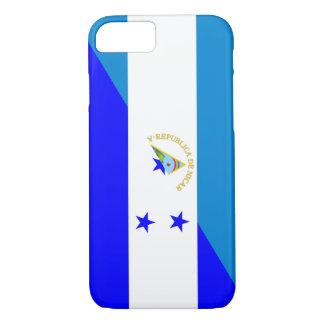 nicaragua honduras flag country half flag symbol iPhone 7 case