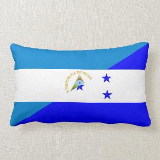 nicaragua honduras flag country half flag symbol lumbar pillow