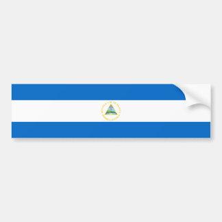 Nicaragua/Nicaraguan Flag Bumper Sticker