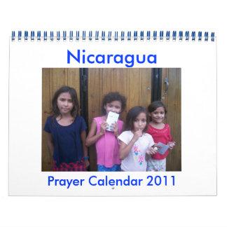 nicaragua prayer calendar 2011