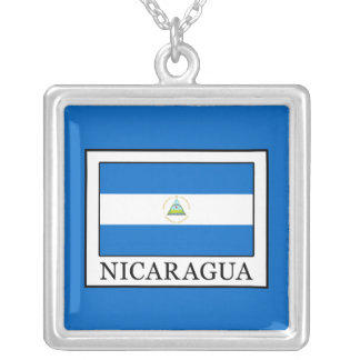 Nicaragua Silver Plated Necklace